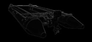 CyberKat Katamaran Boot schwarz2