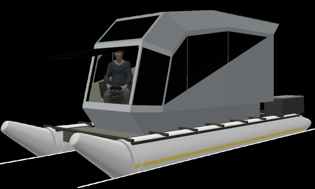 CyberKat 3D Modell Boot Bild1