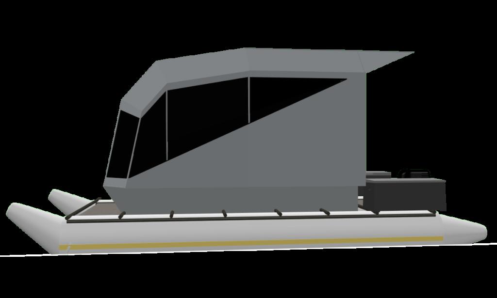 CyberKat 3D Modell Boot Bild2