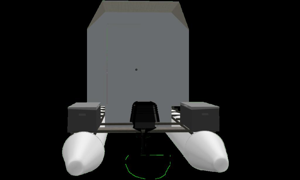 CyberKat 3D Modell Boot Bild4