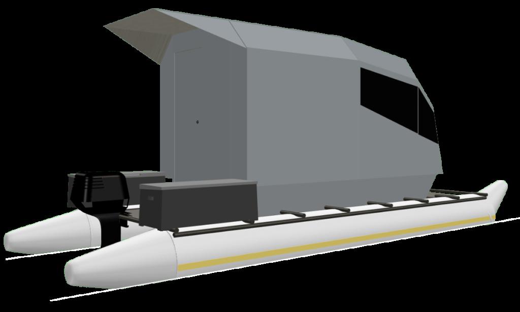 CyberKat 3D Modell Boot Bild5