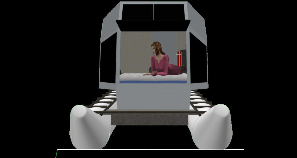 CyberKat 3D Modell Boot Bild7
